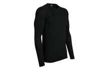 Icebreaker - Everyday Ls Crewe - Homme - Noir